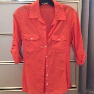 James Perse Button Down Long Sleeve Shirt